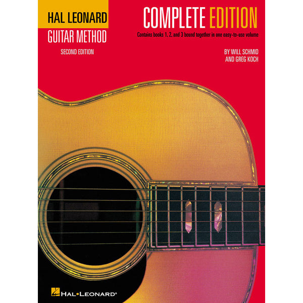 The Hal Leonard Guitar Method, Second Edition - Complete