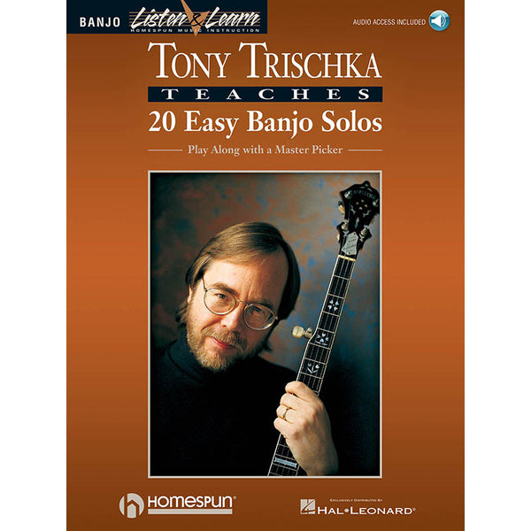 Tony Trischka Teaches 20 Easy Banjo Solos - Play Along with a Master Picker