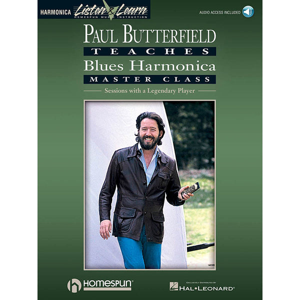 Paul Butterfield Teaches Blues Harmonica Master Class