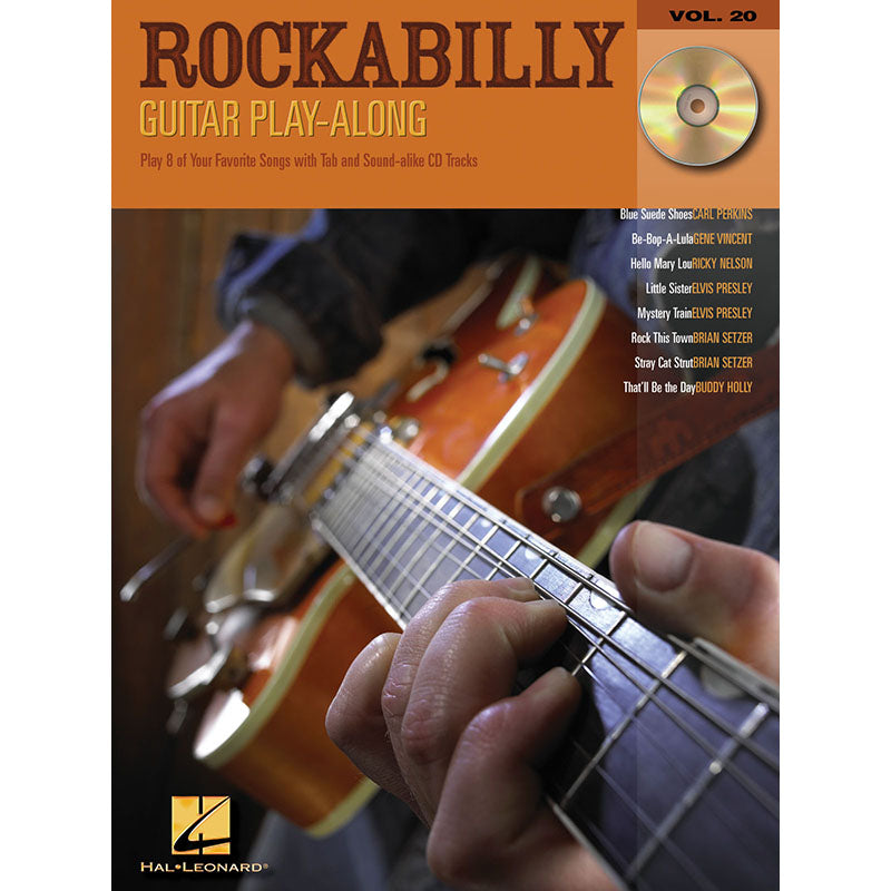 Rockabilly Guitar Play-Along, Vol. 20