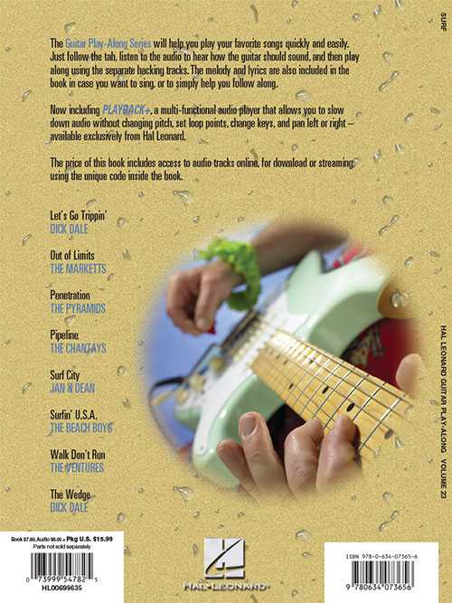 Surf Guitar Play-Along, Vol. 23