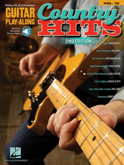 Country Hits - Second Edition, Guitar Play-Along, Vol. 76