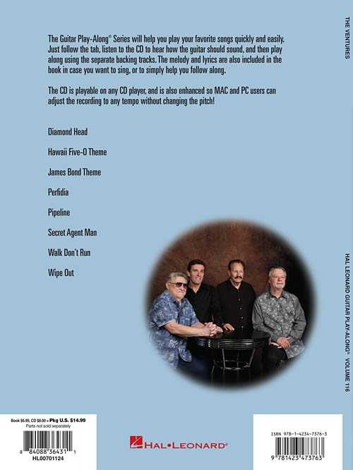 The Ventures Guitar Play-Along, Vol. 116