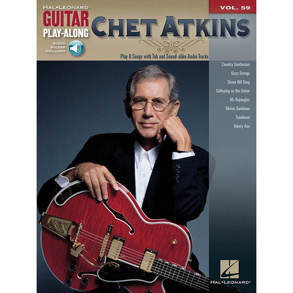 Chet Atkins Guitar Play-Along, Vol. 59