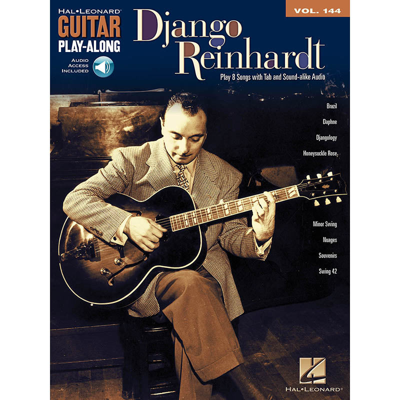 Django Reinhardt Guitar Play-Along, Vol. 144