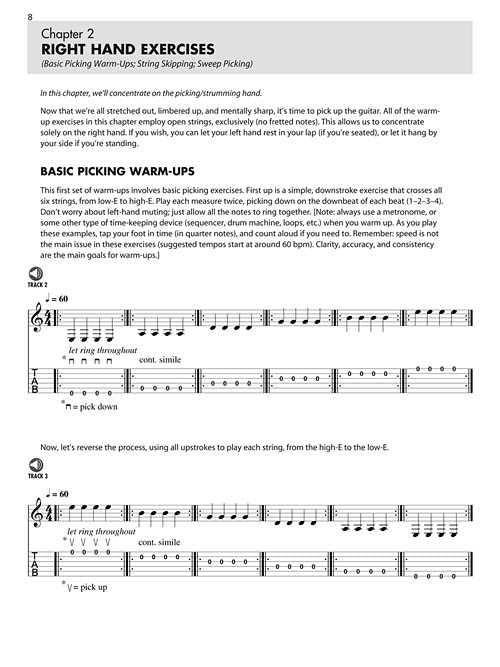 Daily Guitar Warm-Ups - Physical and Musical Exercises to Help Maximize Practice Time