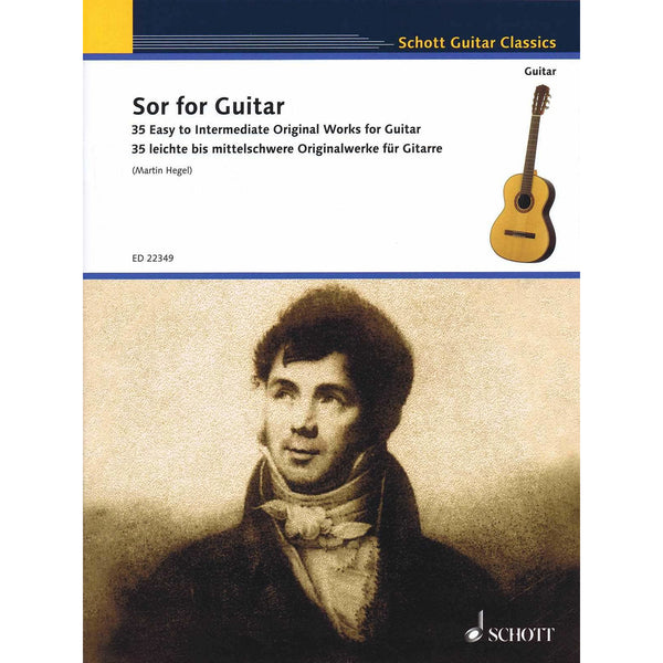 Sor for Guitar - 35 Easy to Intermediate Original Works for Guitar