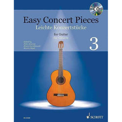 Easy Concert Pieces for Guitar, Volume 3