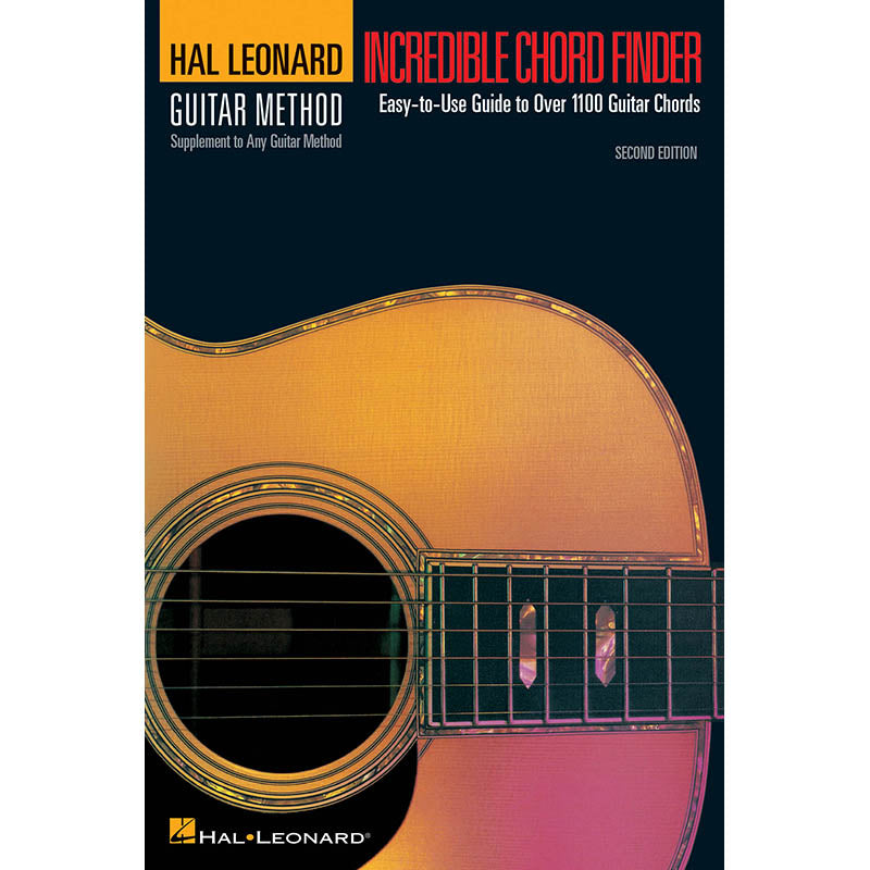 Incredible Chord Finder, 2nd Edition