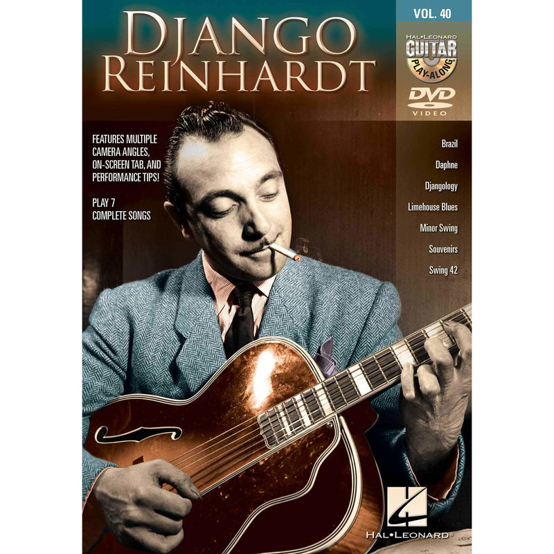 DVD - Django Reinhardt - Guitar Play-Along DVD Vol. 40