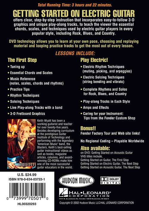 DVD - Fender Presents Getting Started On Electric Guitar