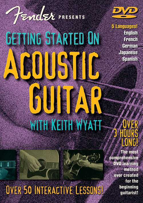 DVD - Fender Presents Getting Started On Acoustic Guitar