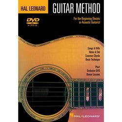 DVD - Hal Leonard Guitar Method DVD-For the Beginning Electric or Acoustic Guitarist