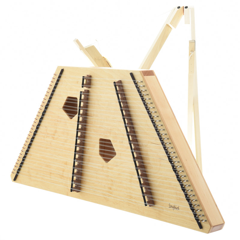 Songbird Phoebe 16/15 Hammered Dulcimer Package, with Case, Stand  & Accessories