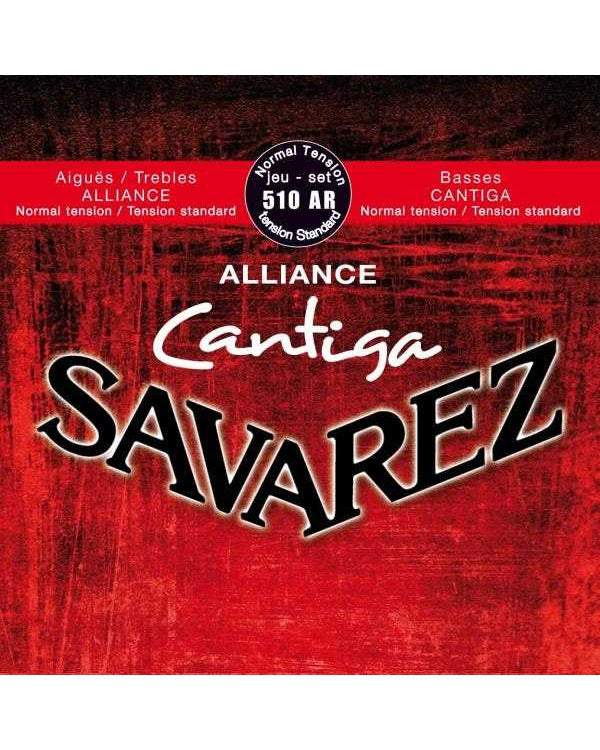 Savarez Alliance Cantiga Classical Guitar Strings, Normal Tension, Full Set
