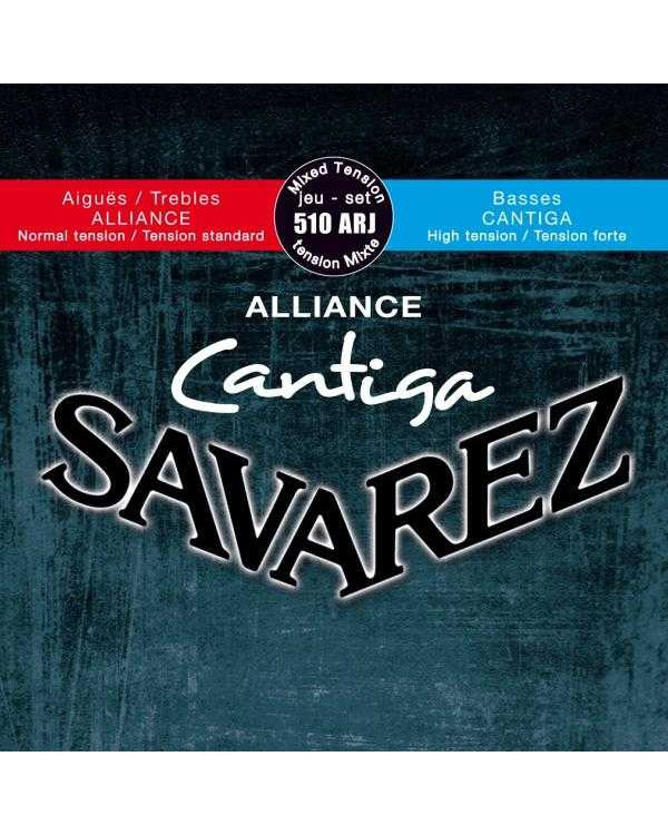 Savarez Alliance Cantiga Classical Guitar Strings, Mixed Tension, Full Set