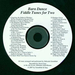 <CD> Barn Dance Fiddle Tunes for Two