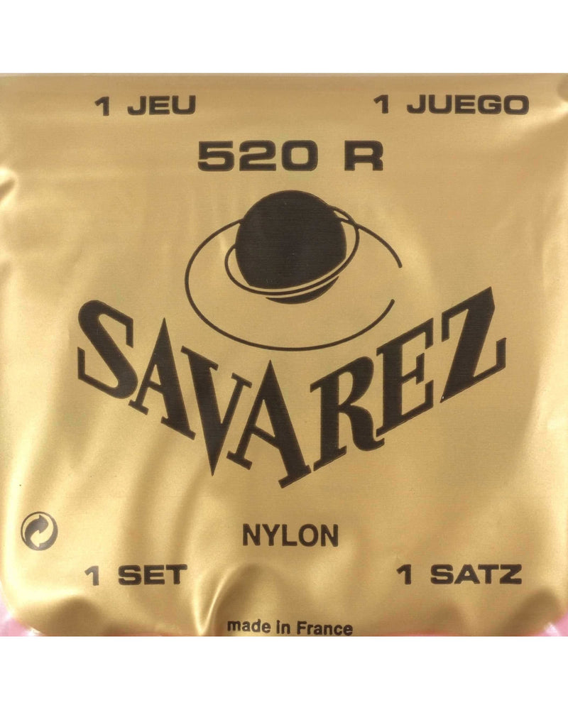 Savarez 520R Classical Guitar Strings, High Tension