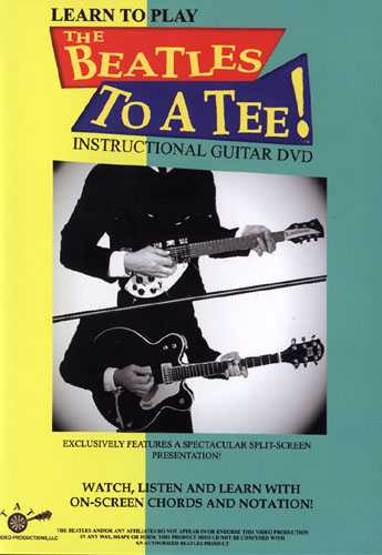 DVD - Learn to Play the Beatles to a Tee!