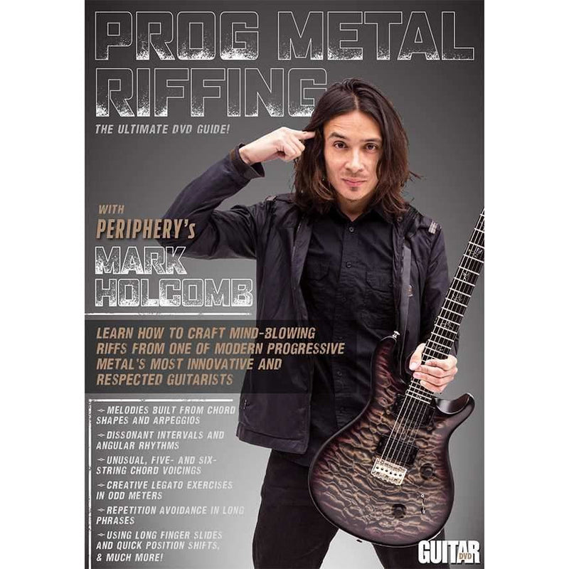 DVD - Guitar World: Prog Metal Riffing