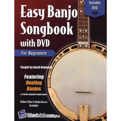 Easy Banjo Songbook with DVD