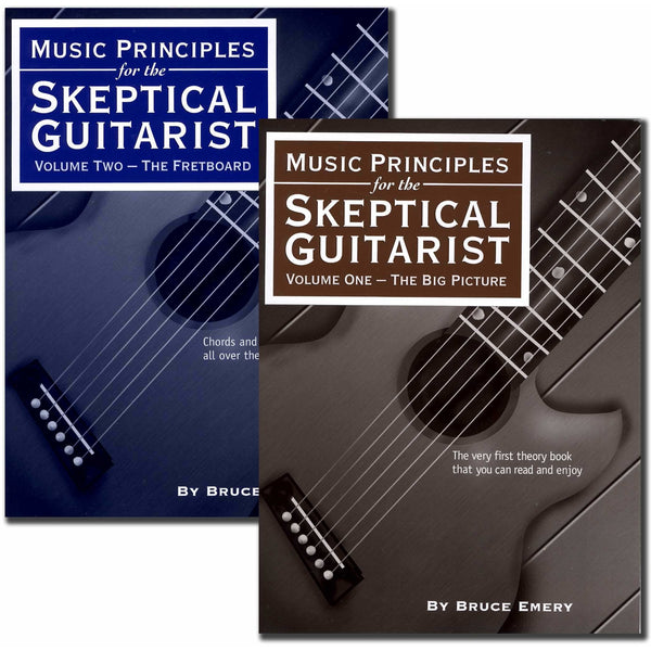 Music Principles for the Skeptical Guitarist - Set: Volumes One and Two
