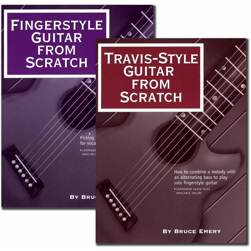 Fingerstyle Guitar From Scratch / Travis-Style Guitar From Scratch Set