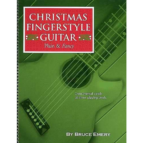 (144) CHRISTMAS FINGERSTYLE GUITAR - PLAIN & FANCY
