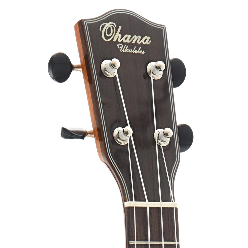 Ohana CK-35GCE Concert Ukulele, with Cutaway, Pickup and Eq, Glossy Finish