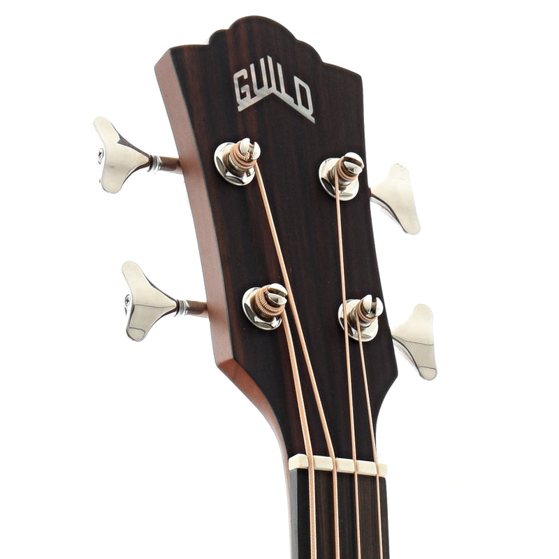 Guild B-240EF Archback Acoustic Fretless Bass Guitar with Gigbag