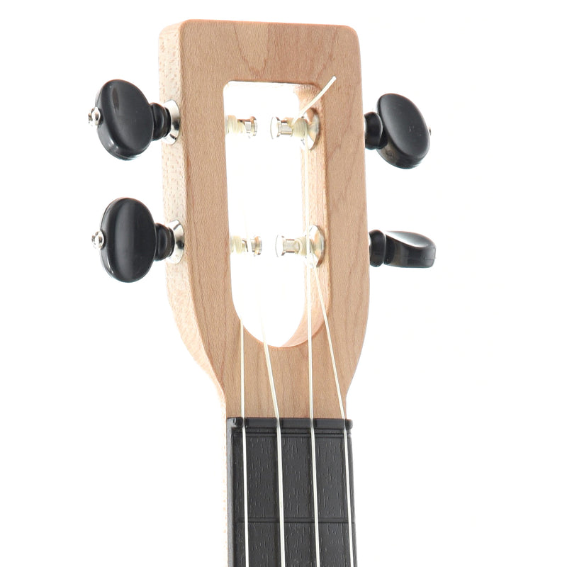 MAGIC FLUKE COMPANY FLUKE UKULELE, CONCERT, NATURAL FINISH WITH GIGBAG