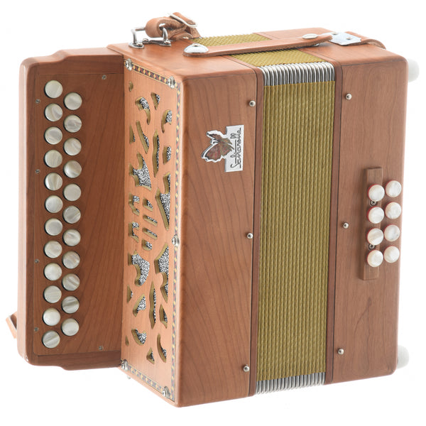 Saltarelle Irish Bouebe B/C Button Accordion (2000's)