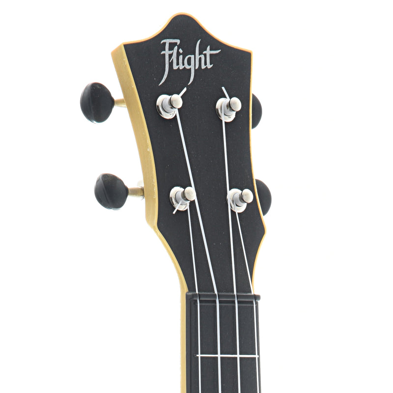 Flight TUS35 Travel Series Concert Neck Soprano Ukulele, Black