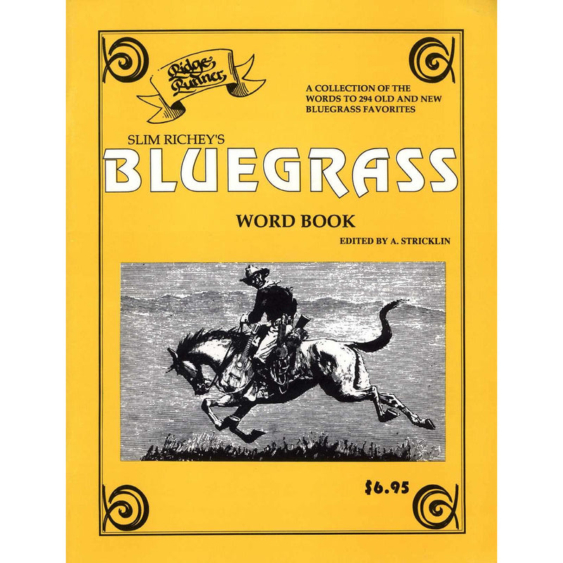 Slim Richey Bluegrass Wordbook #1