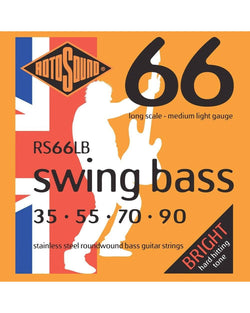 Rotosound RS66LB Swing Bass 66 Medium Light Gauge Electric Bass Strings