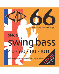 Rotosound SM66 Swing Bass Hybrid Gauge Electric Bass Strings