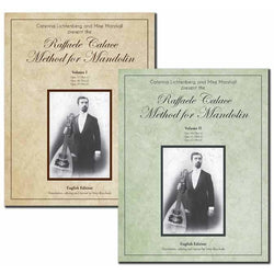 Two Book Set: The Raffaele Calace Method for Mandolin - Volumes I & II, English Edition