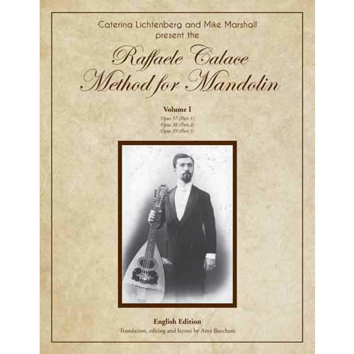 The Raffaele Calace Method for Mandolin - Volume I, English Edition