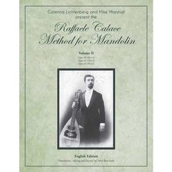 The Raffaele Calace Method for Mandolin - Volume II, English Edition