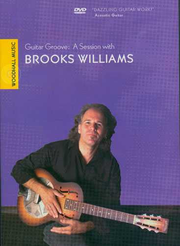 DVD - Guitar Groove: A Session with Brooks Williams