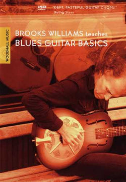 DVD - Brooks Williams Teaches Blues Guitar Basics