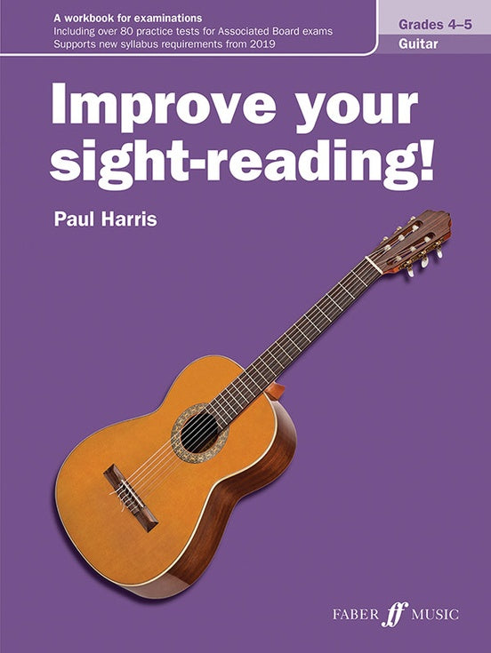 Improve Your Sight Reading Guitar Grades 4-5
