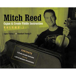 DVD - Mitch Reed - Cajun & Creole Fiddle Instruction, Vol. 1