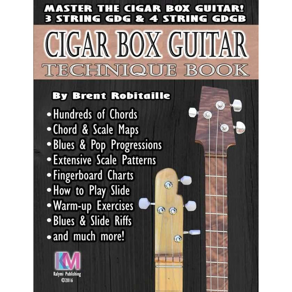 Cigar Box Guitar Technique Book