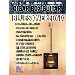 Blues Overload-For 3-String Cigar Box Guitar