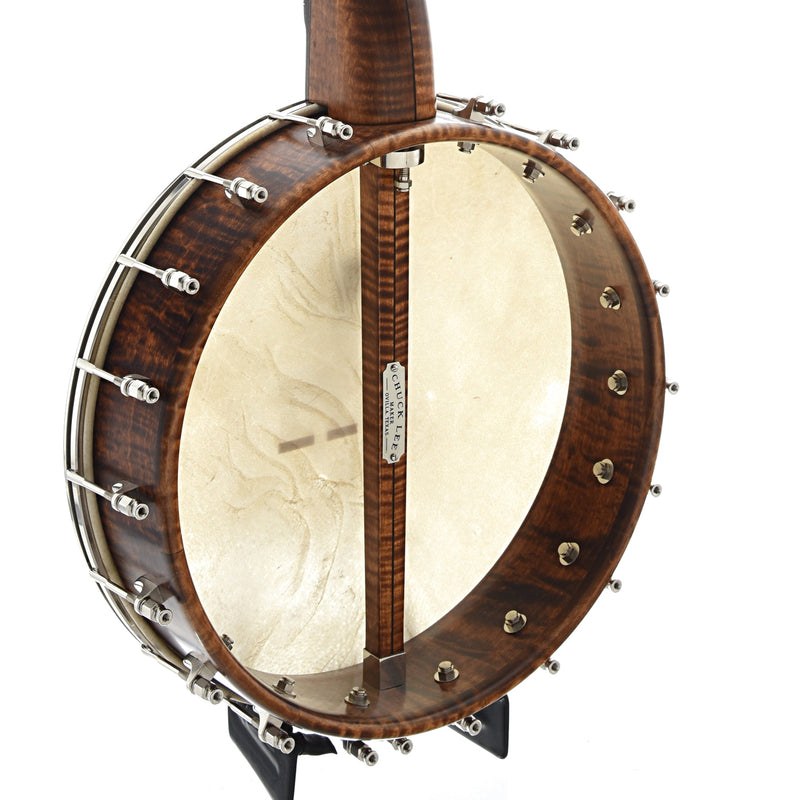 "Chuck Lee Lone Star Deluxe Custom, 12"" Rim, Integral Wood Tone Ring"