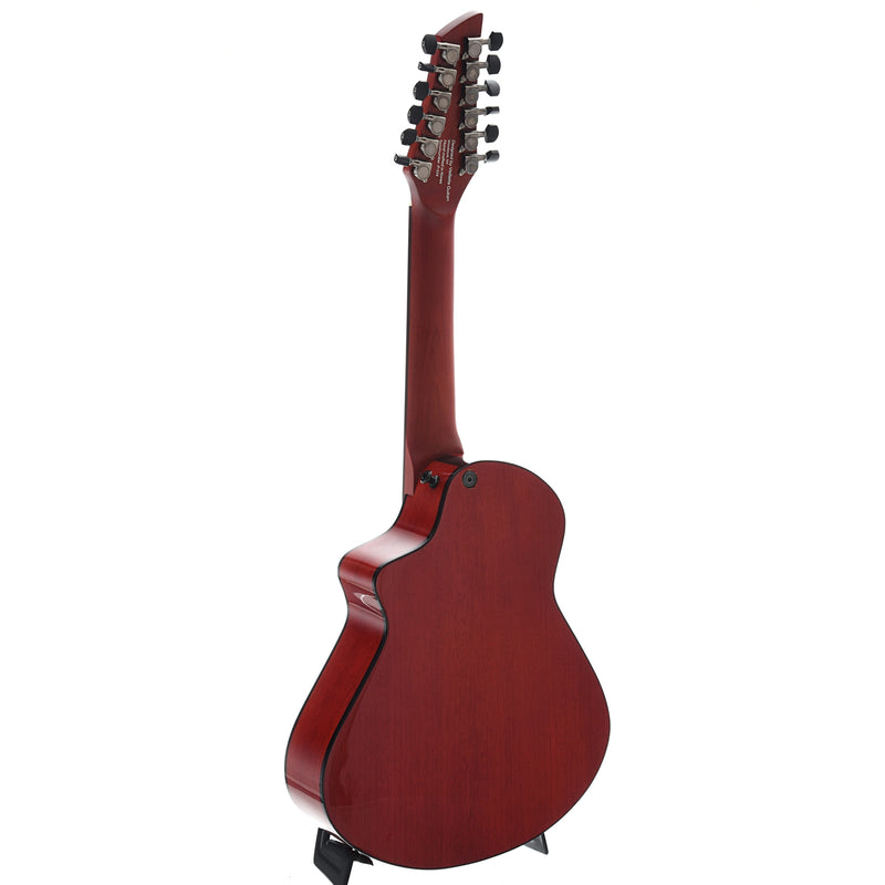 Avante by Veillette Gryphon 12-String Mini-Guitar with Case, Vintage Mahogany