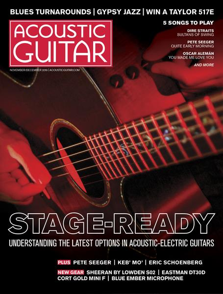 Acoustic Guitar Magazine - November/December 2019
