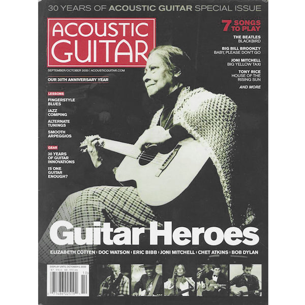 Acoustic Guitar Magazine - September / October 2020
