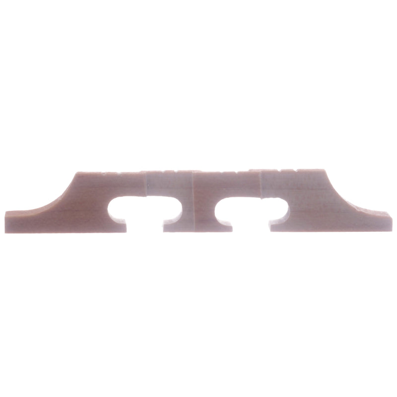 "Hennig Banjo Mandolin Bridge, 1/2"" Tall, Flat Top"